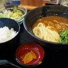 情熱うどん讃州 - 料理写真:カレー窯玉ランチ