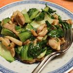 嘉賓 - 青梗菜と鶏肉の炒め物