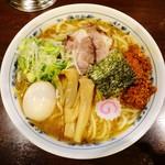 大勝軒 みしま - 料理写真:辛肉ラーメン