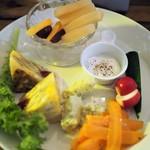 南青山野菜基地 ORIGINAL - 前菜盛り合わせ上から