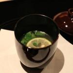 乃木坂 しん - そばごめ汁