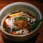 料理菜々 きりん - 料理写真:坂越生牡蠣ポン酢(880円)