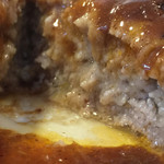 サンジャック - ハンバーグは肉汁溢れてます