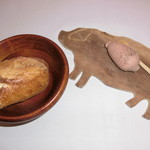 ビストロ コティディアン - 鶏白レバーのムース