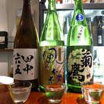 地酒喝采 かも蔵 - 福岡「田中六五」、奈良「風の森」、愛知「菊鷹」。神楽坂で日本一周
