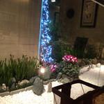 61900662 - 坪庭もクリスマス仕様
