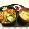 笑顔の里 - 料理写真:回鍋肉丼定食