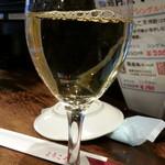 ばんしゃく家うま久 - 月曜火曜割引サービスからワインの白エブリ通常グラス300円が150円