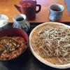 そば処匠庵 - 料理写真:ランチ「とりめしと蕎麦」