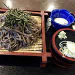 やしおの湯 - 料理写真:ざるとろろそば700円