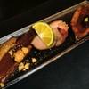 鴨蕎麦 尖 - 料理写真:鴨肉三点盛り♪