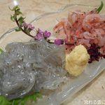 魚ごころ 季魚喜人 - 生桜海老と生しらす