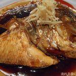 魚ごころ 季魚喜人 - 鯛のかぶと煮