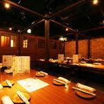 京の台所~産地野菜~ - プライベート感たっぷりの和空間でお楽しみ下さい。
