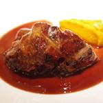 コート・ドール - 国産牛のしっぽの煮込み 赤ワインソース