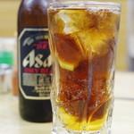 忠弥 - カクテル、黒ビール