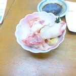 魚介 - 鯨ベーコン