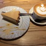 ソラ カフェ - 料理写真:きなことのマスカルポーネ