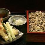 権八 - 天ぷらせいろ蕎麦