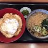 なすび - 料理写真:お昼のセット コロッケ丼(玉子とじ)700円