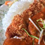 サンジ - 料理写真:カツカリーライスセット800円
