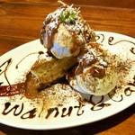 ビビッドライフ - くるみとラムキャラメルのベイクドcheese