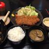 のんべぇ・くうべぇ - 料理写真:とんかつ定食