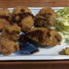伊勢元酒場 - 料理写真:かきフライ¥580 かきは5個もありました。