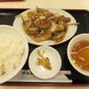 神楽坂飯店 - 料理写真:レバー野菜定 750円