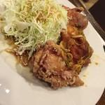 なるみ - 日替わりランチの油淋鶏