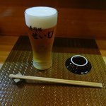寿司処せいじ - ドリンク写真:プレミアムモルツ