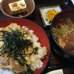 宮松 - 親子丼ときしめんセット(ランチ)