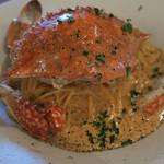 Kulu Kulu - 渡り蟹のトマトクリームパスタ