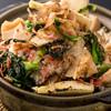 ワンガーデン - 料理写真:竹の子・菜の花・桜えびの釜炊きご飯