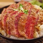 レッド ロック - ステーキ丼(大)