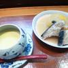 磯八 - 料理写真:茶碗蒸しとブリ大根