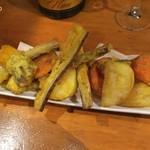 Bistro-SHIN 2 - 季節野菜の4種フリットM650円+税