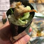 第三春美鮨 - 名物の鯖巻き