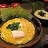 横浜家系ラーメン 金山家 - 料理写真:ラーメン(醤油)大 + 麺大盛り と、塩ラーメン 並。