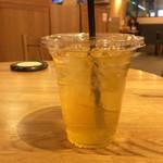 the 3rd Burger - アイス凍頂烏龍茶