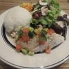 エスデミック カフェ - 料理写真:日替わりの鶏むね肉のティアドサルサソース