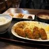 わふく家 - 料理写真:牡蠣フライ定食650円です!(2017.2.2)