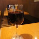 新世界 おやじの 串や - フランジア 赤 グラス 379円