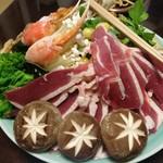 天手古舞 - 料理写真:鴨うどん浄饌 3,500円×3人前
