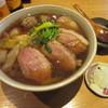 蕎麦小路 さわらび - 料理写真:「鴨南蛮」(大盛り)