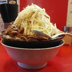麺屋 桐龍 - 標高。 増してなくても野菜が高い(^^;