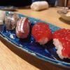 宝寿司分店 - 料理写真:筋子の握り最高~