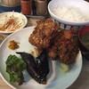鳥駒 - 料理写真:唐揚げ定食