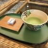 指宿白水館 - ドリンク写真:お抹茶と和菓子