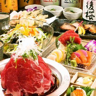 『牛タンしゃぶしゃぶ』コース全7品3H飲放付き3,800円